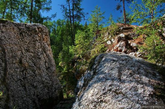 Pinega, Rusko: Голубинский карстовый массив