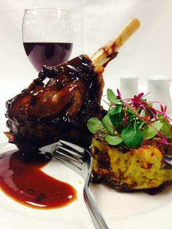 Oldfields Noted Eating House: Lamb Shank