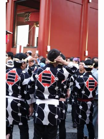 Hotel Kaminarimon : 三社祭