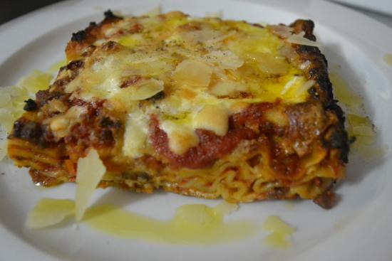 Lasagna Homemade Lamb Ragu Pink Sauce Picture Of Rivoli