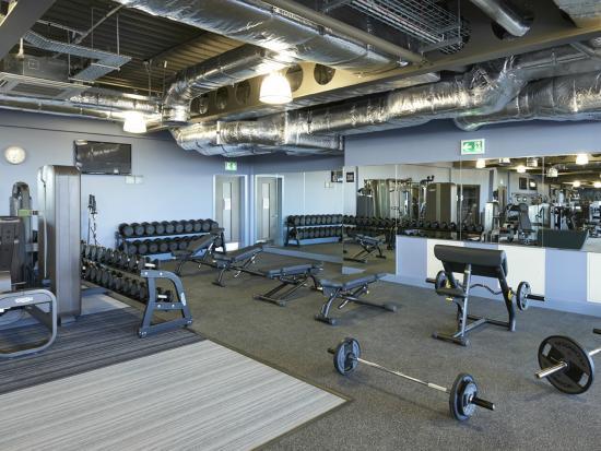 Marriott Hotel Aberdeen Gym
