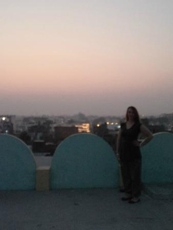 Sandhya Guest House: roof top