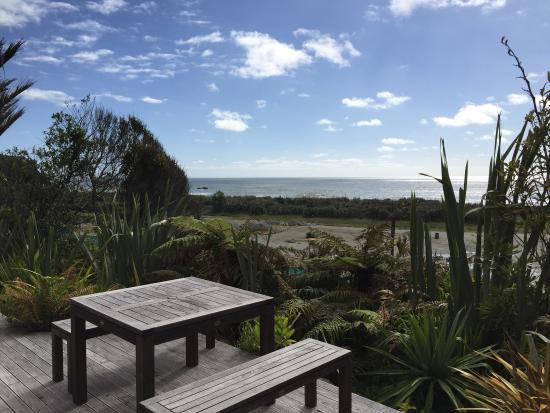 Hydrangea Cottages : View from Deck - Nikau Cottage