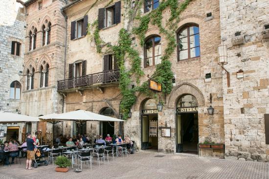 Ristorante Le Terrazze - Picture of Le Terrazze, San Gimignano ...