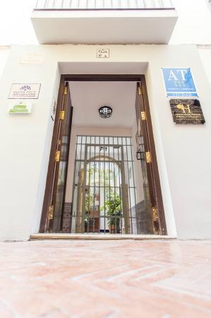 Apartamentos - Suites Santa Cruz : Entrada