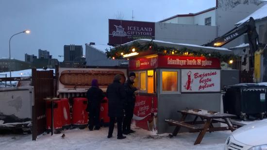 Radisson Blu 1919 Hotel, Reykjavik: Best hotdogs in Reykjavik!
