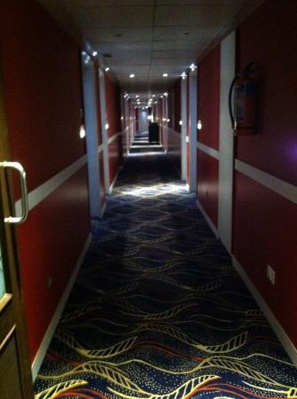 Hotel Fidalgo: passage