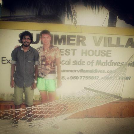 Summer Villa Guest House: С администратором отеля