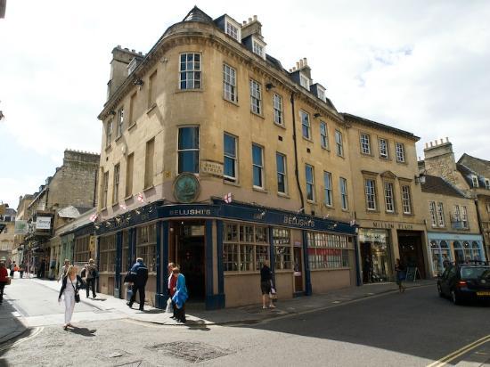 St Christopher's Inn Bath: Street view of the Hostel