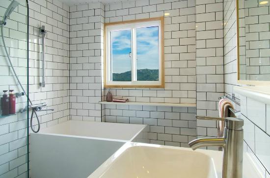 Nozawa Central Hotel: Apartment bathroom