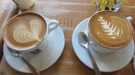 La Pensione: Café im Haus