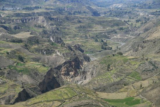 Pinchollo, Perú: La valle