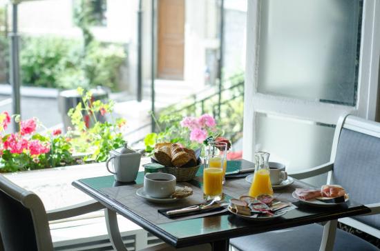 Concordia Hotel: Le petit déjeuner