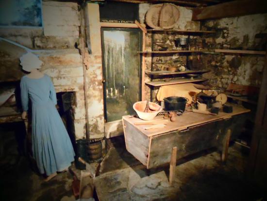Sally Lunn's Museum : Cozinha da Sally