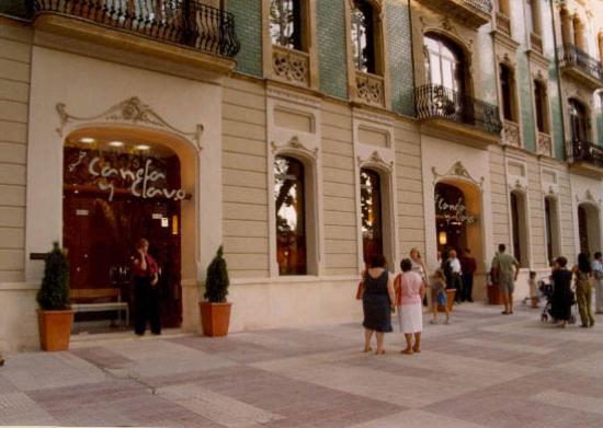 Canela y clavo xativa restaurant avis num ro de for Hotels xativa espagne