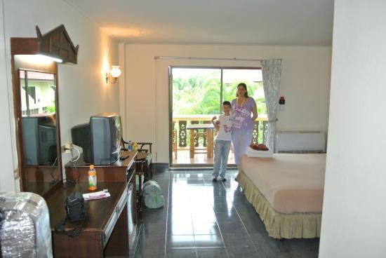 Ban Nam Mao Resort: номер
