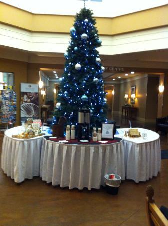 Executive Royal Hotel Calgary: Christmas Tree