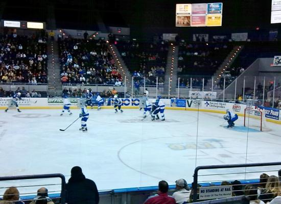 Pensacola Civic Center: Hockey