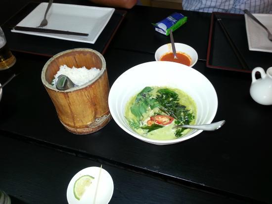 Zen Garden Restaurant: Special curry