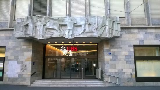 Paradeplatz: Банк UBS