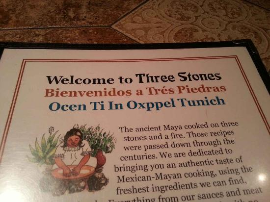 Three Stones - Oxppel Tunich: Welcome to Three Stones