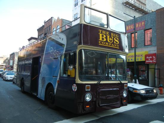 big bus tours picture of big bus tours philadelphia tripadvisor. Black Bedroom Furniture Sets. Home Design Ideas