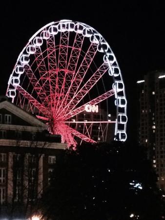 DoubleTree by Hilton Hotel Atlanta Downtown : From the balcony