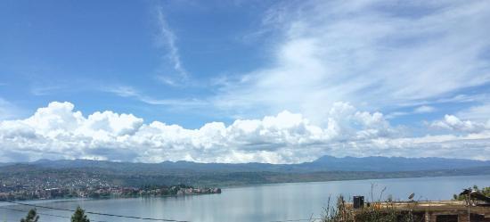 Lake Kivu from Hotel Horizon