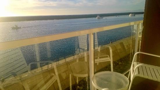 the deck giving you the feeling of being on a cruise ship picture rh tripadvisor com