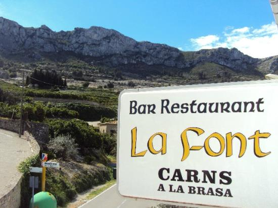 imagen La Font Restaurante en Vall de Gallinera