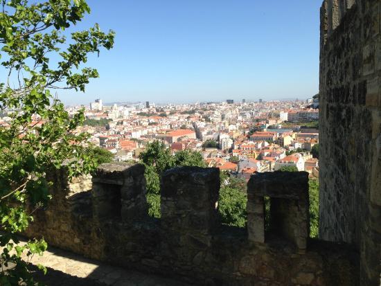 Castelo de S. Jorge: vista