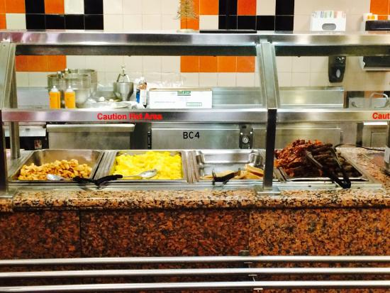 Embassy Suites By Hilton Anaheim South: Breakfast Bar At The Embassy Suites  December 2014
