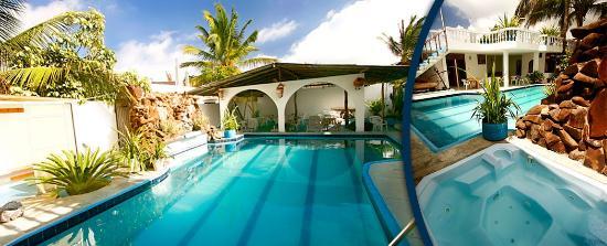 Hotel Fernandina: Piscina & jacuzzi