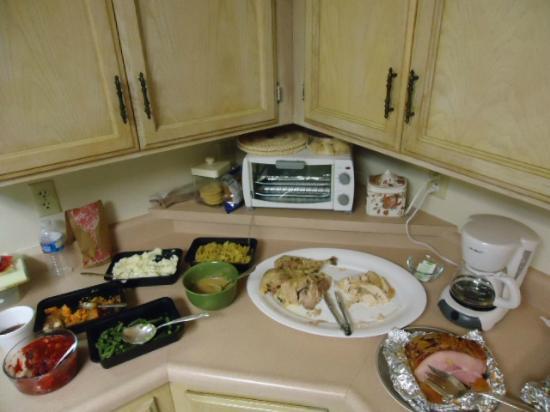 Reedley, Californië: Thanksgiving dinner the easy way, catered!