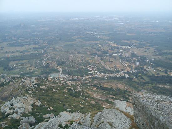 Shivagange: the view from the top (or almost the top)
