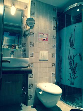 Marmaray Hotel: Bathroom