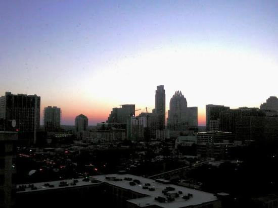 shot of the sunset in the club lounge picture of sheraton austin rh tripadvisor com