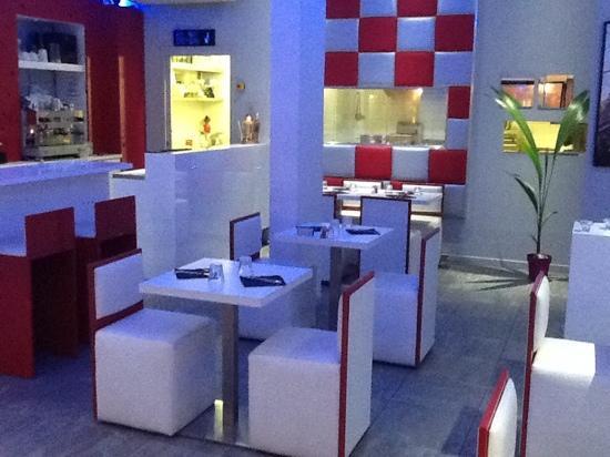 Saint-Cyr-sur-Mer, Frankrig: restaurant burger