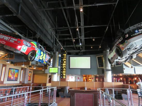 NASCAR Sports Grille: piso superior