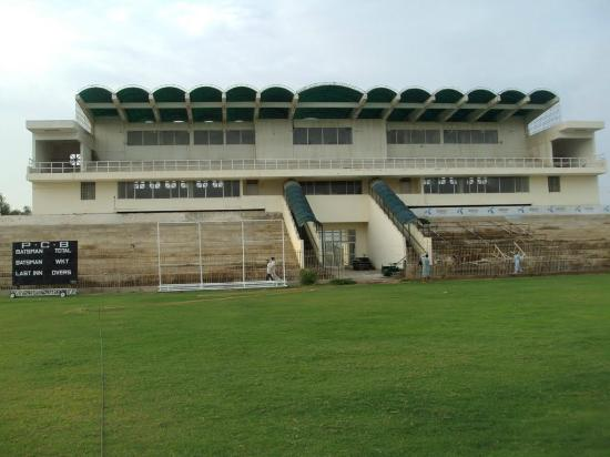 Nawabshah, Pakistan: Bilawal Cricket Stadium