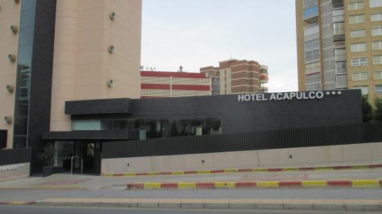Acapulco : Вход в отель