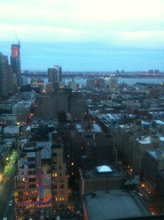 vue du 27 eme étage