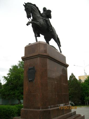 Monument Ataman M.I. Platovu