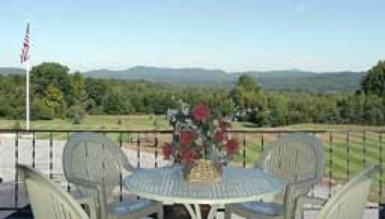 Henniker, NH: View from the Deck