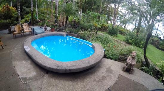 Tucan Terra: The Cool Pool to relax from the heat with a view.