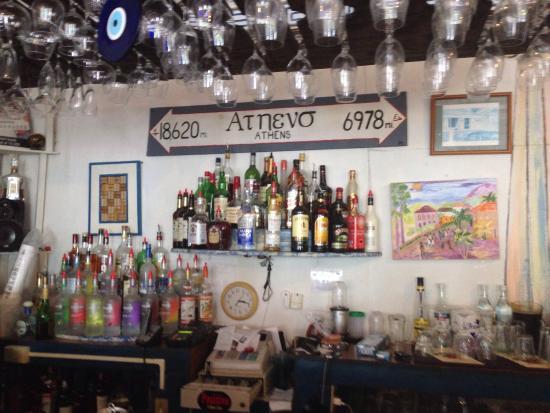 Pickled Greek : The bar!