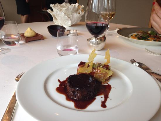 Alain Ducasse at The Dorchester: Wild Boar - Delicious!!!