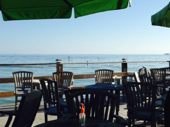 View from the AfterDeck - Picture of Louie's Backyard, Key ...