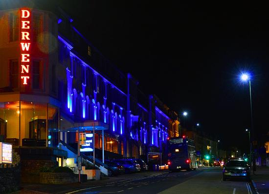 TLH Derwent Hotel: Derwent from Belgrade Road