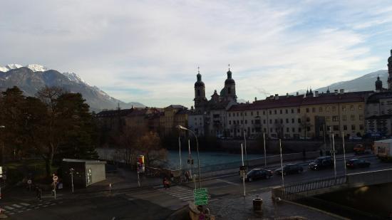 Hotel Mondschein: Vista dalla camera